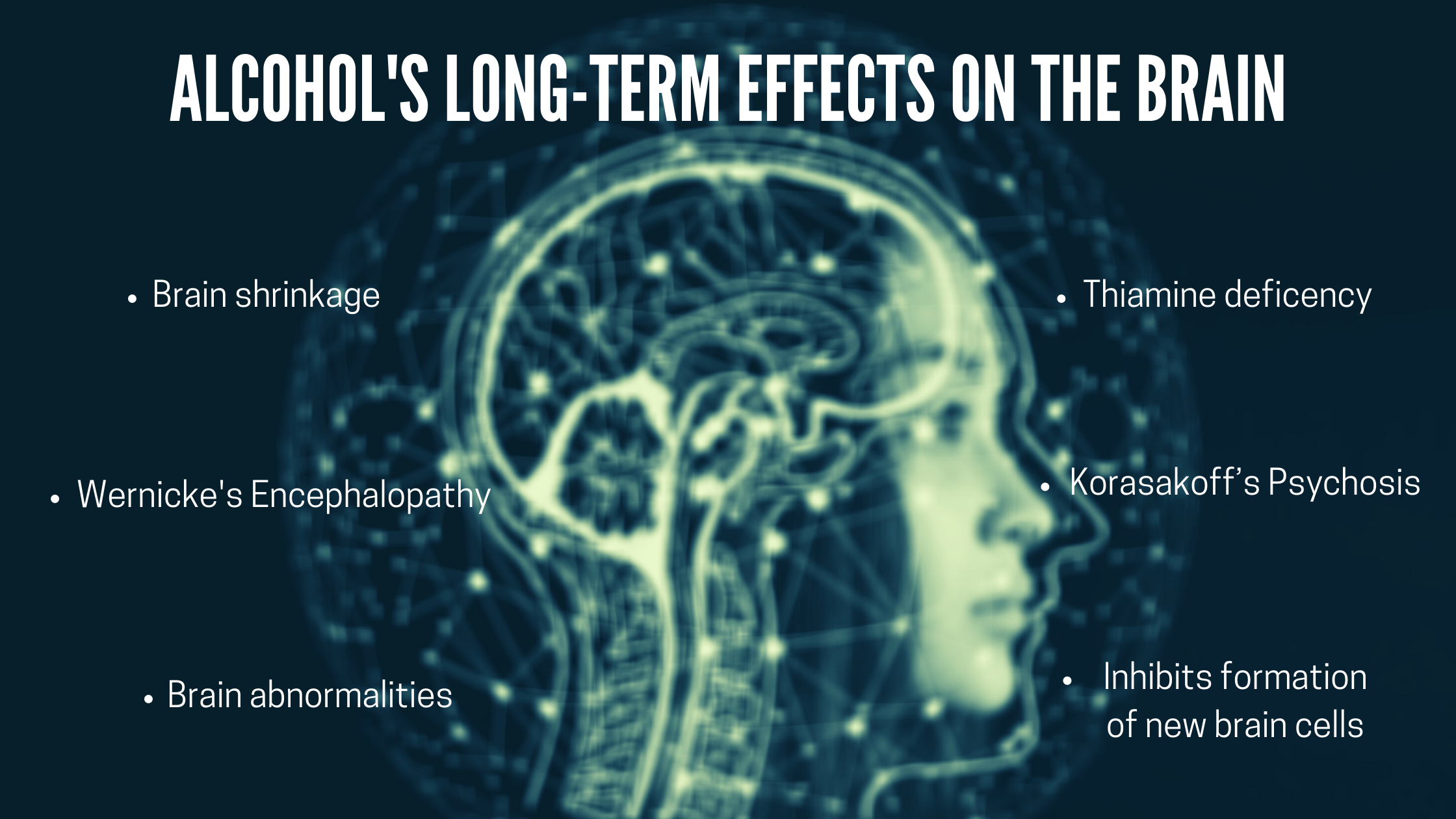 long-term effects of alcohol on the brain