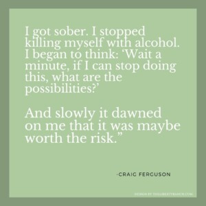 Why to get clean and sober quote
