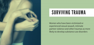 Undoing trauma in Women's addiction treatment, drug addiction and trauma, ptsd, women, addiction violence