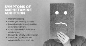 symptoms of benzedrine dependence